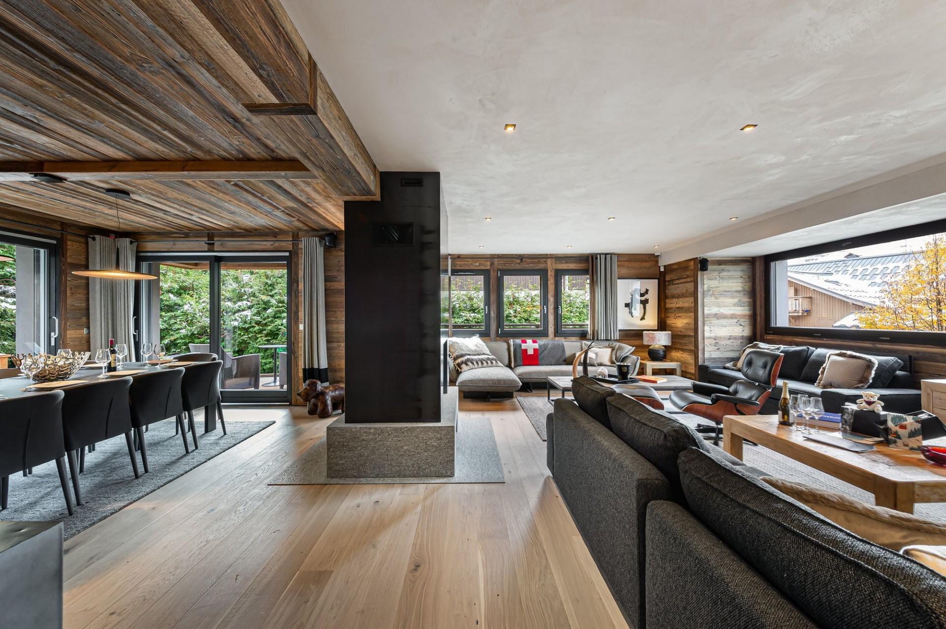 Megève Luxury Rental Chalet Sesune Living Room 3