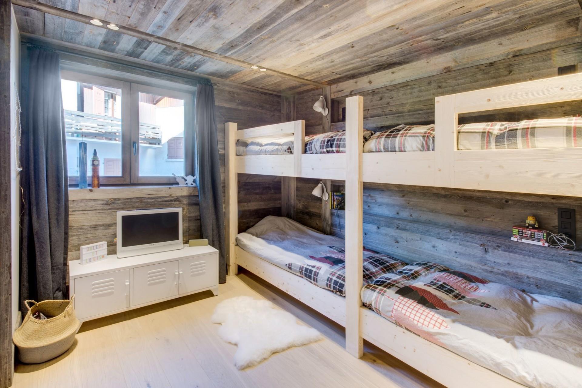 Megève Luxury Rental Chalet Taxo Bedroom 4