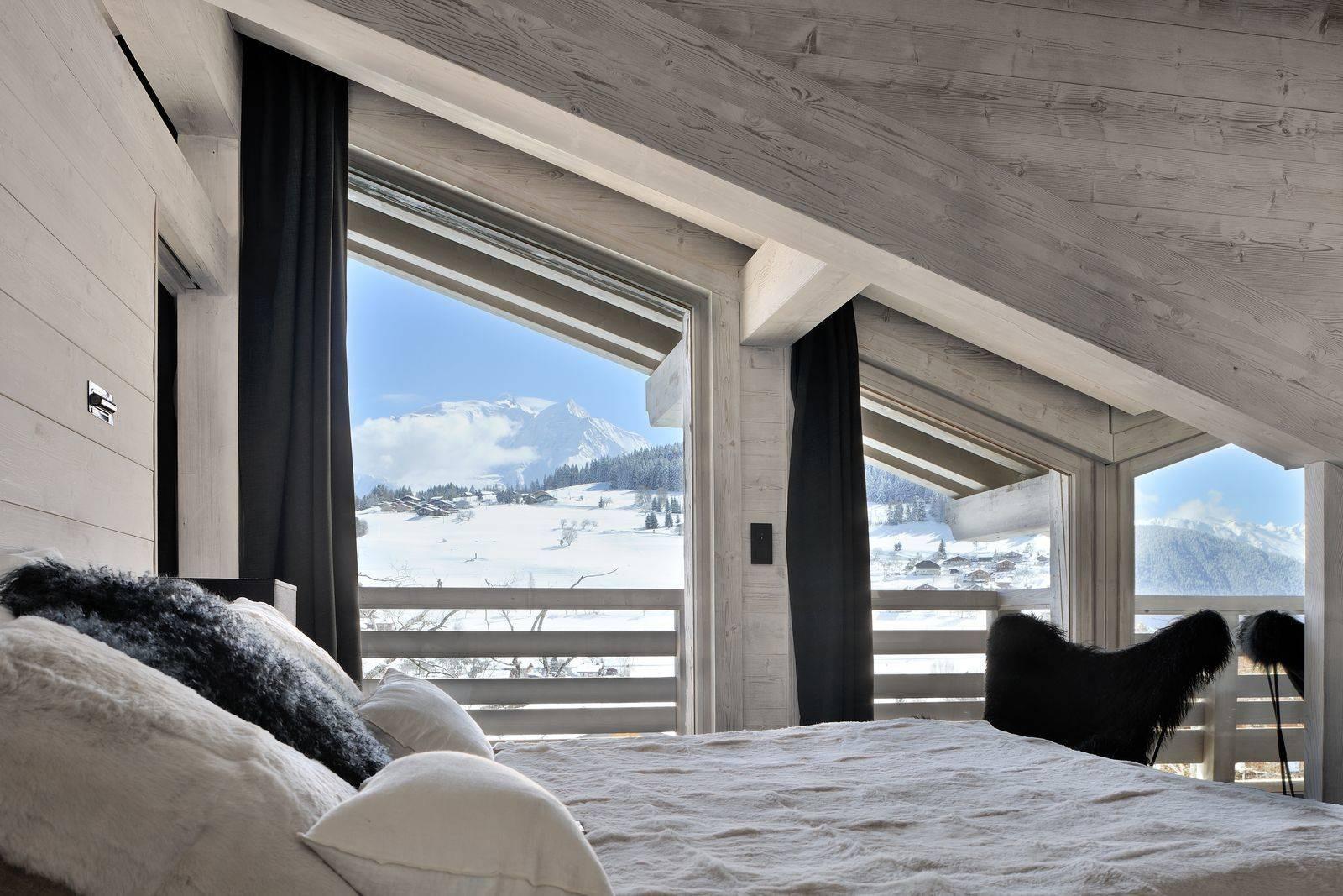 Megève Luxury Rental Chalet Taxone Bedroom
