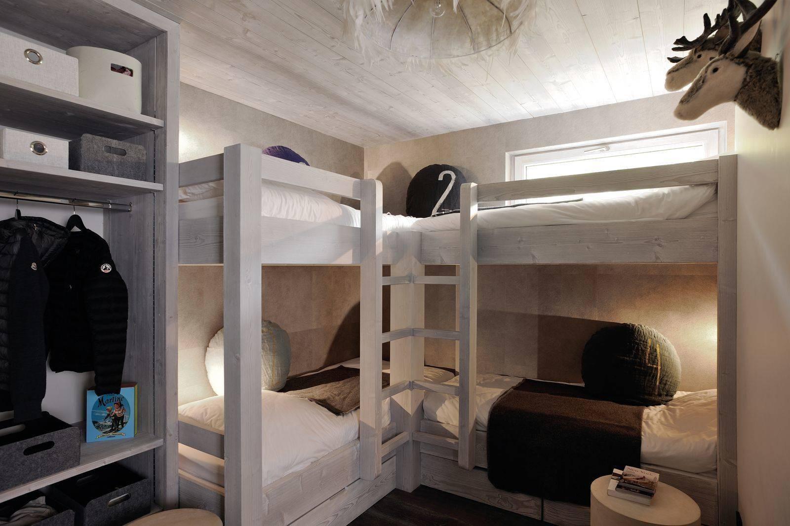 Megève Luxury Rental Chalet Taxone Bedroom 2