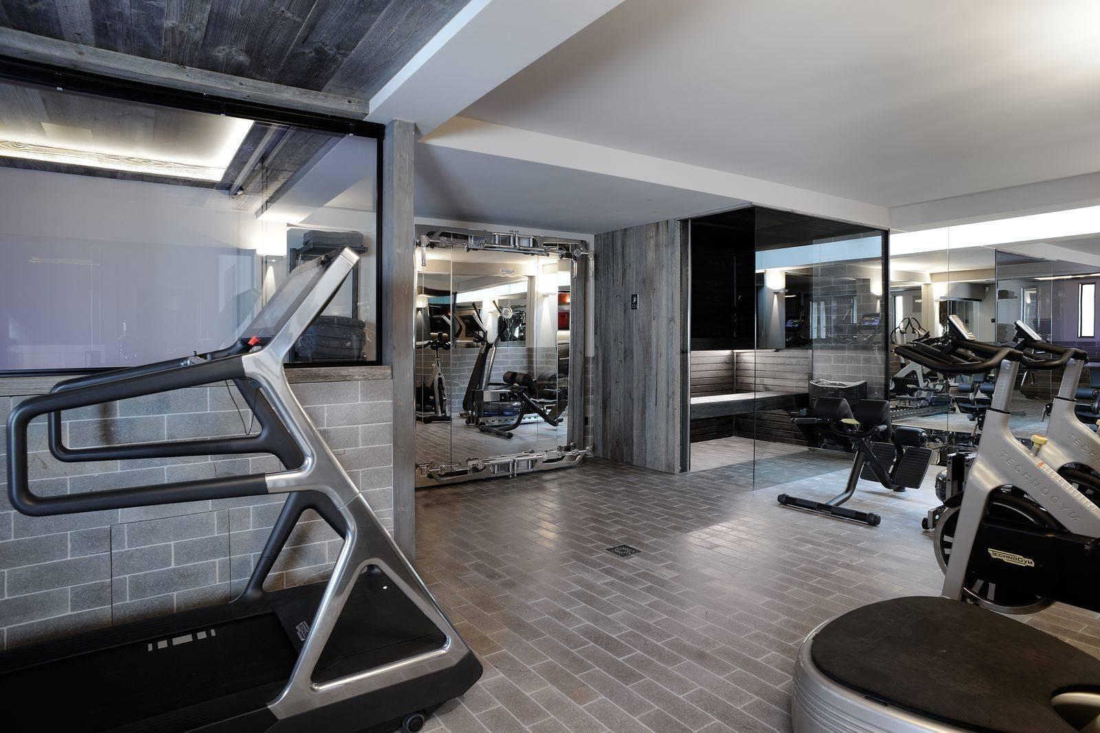 Megève Luxury Rental Chalet Taxone Fitness Room