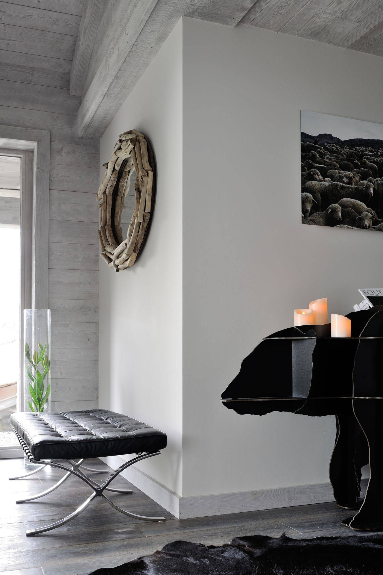 Megève Luxury Rental Chalet Taxone Living Area 3