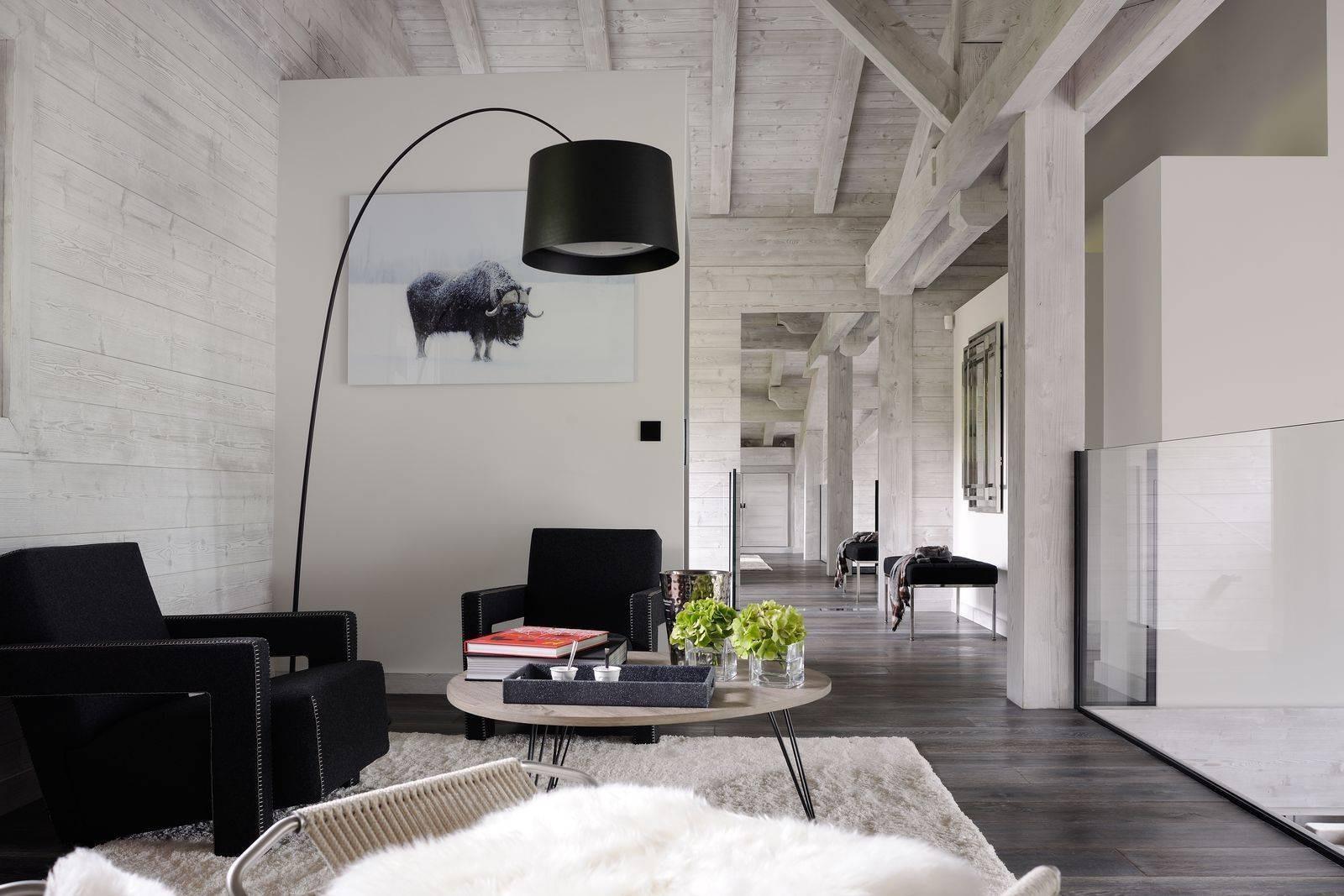 Megève Luxury Rental Chalet Taxone Living Area 4