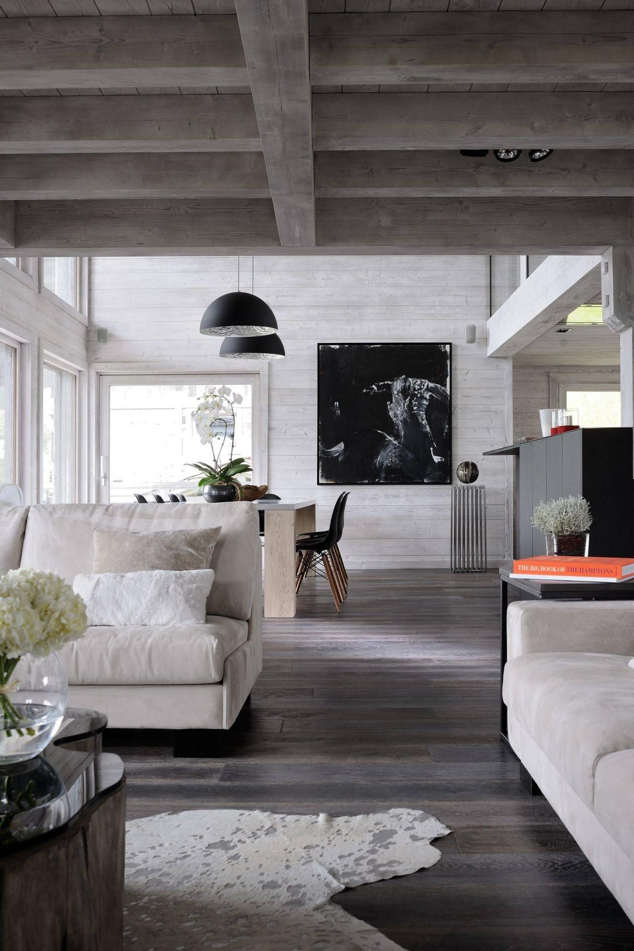Megève Luxury Rental Chalet Taxone Living Area 7