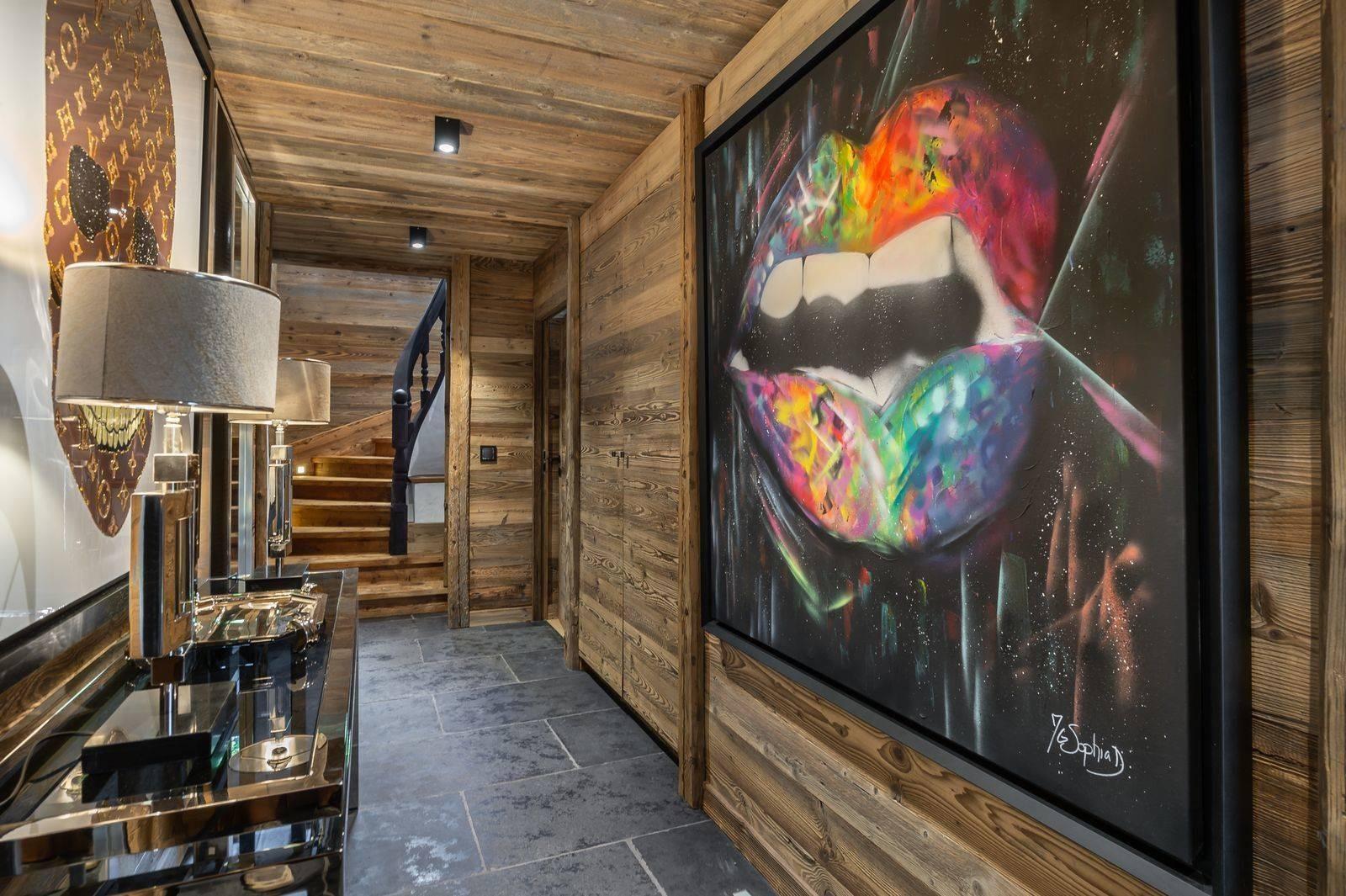 Megève Location Chalet Luxe Taxozite Couloir