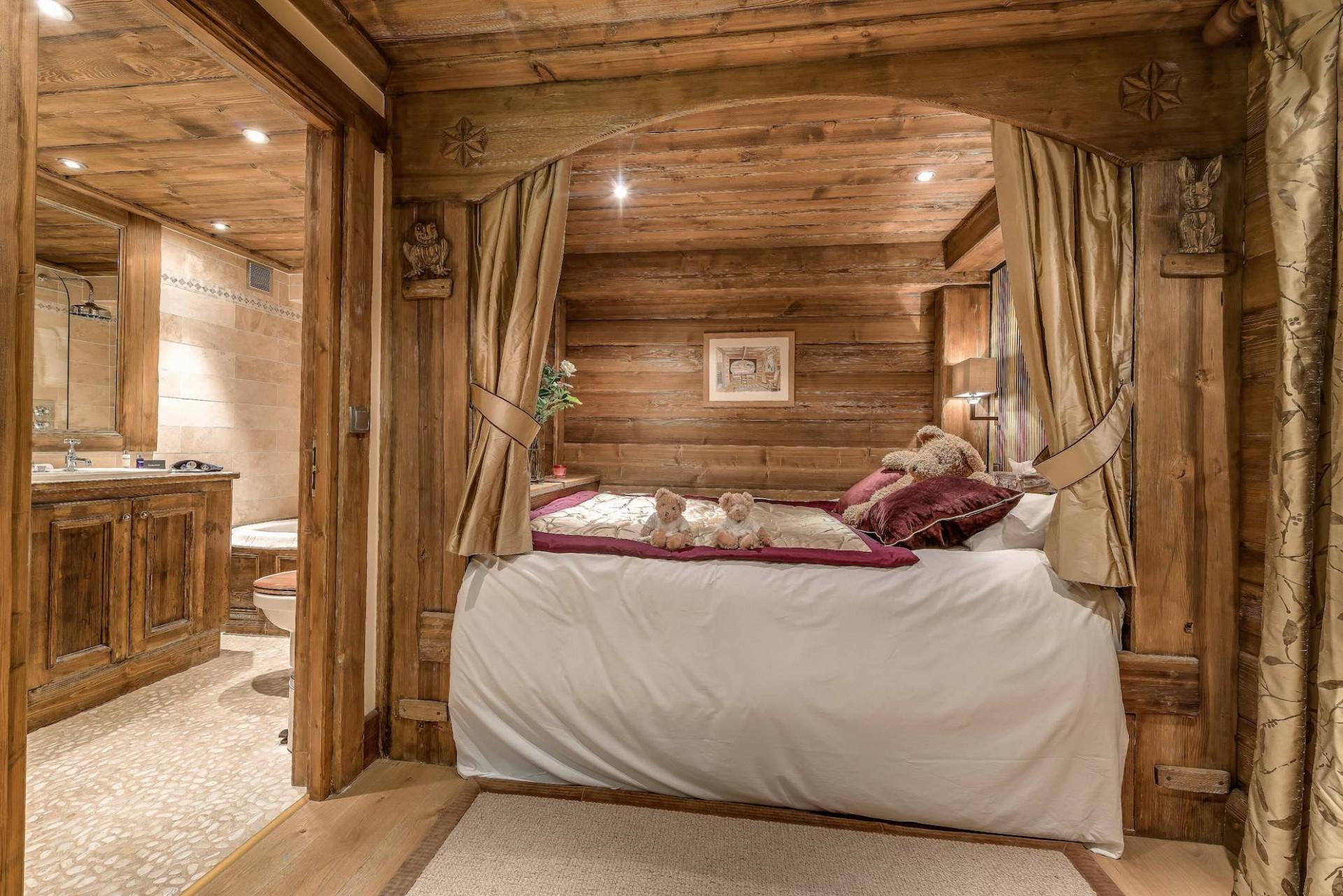Meribel Location Chalet Luxe Malacon Chambre1