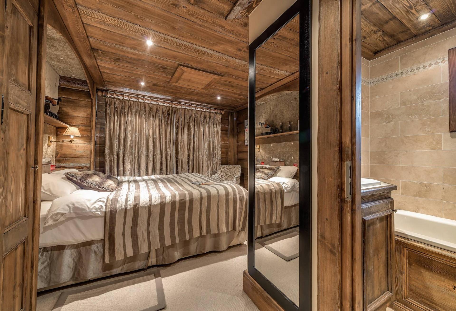 Meribel Location Chalet Luxe Malacon Chambre2