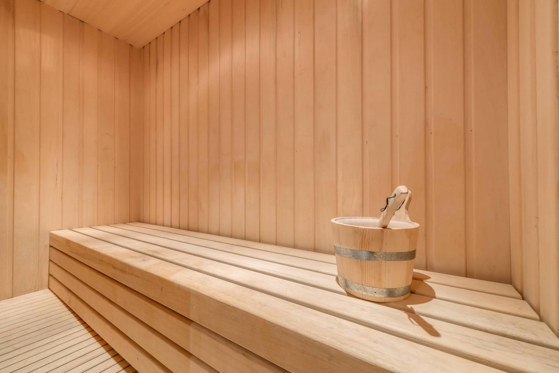 Meribel Location Chalet Luxe Malacon Sauna