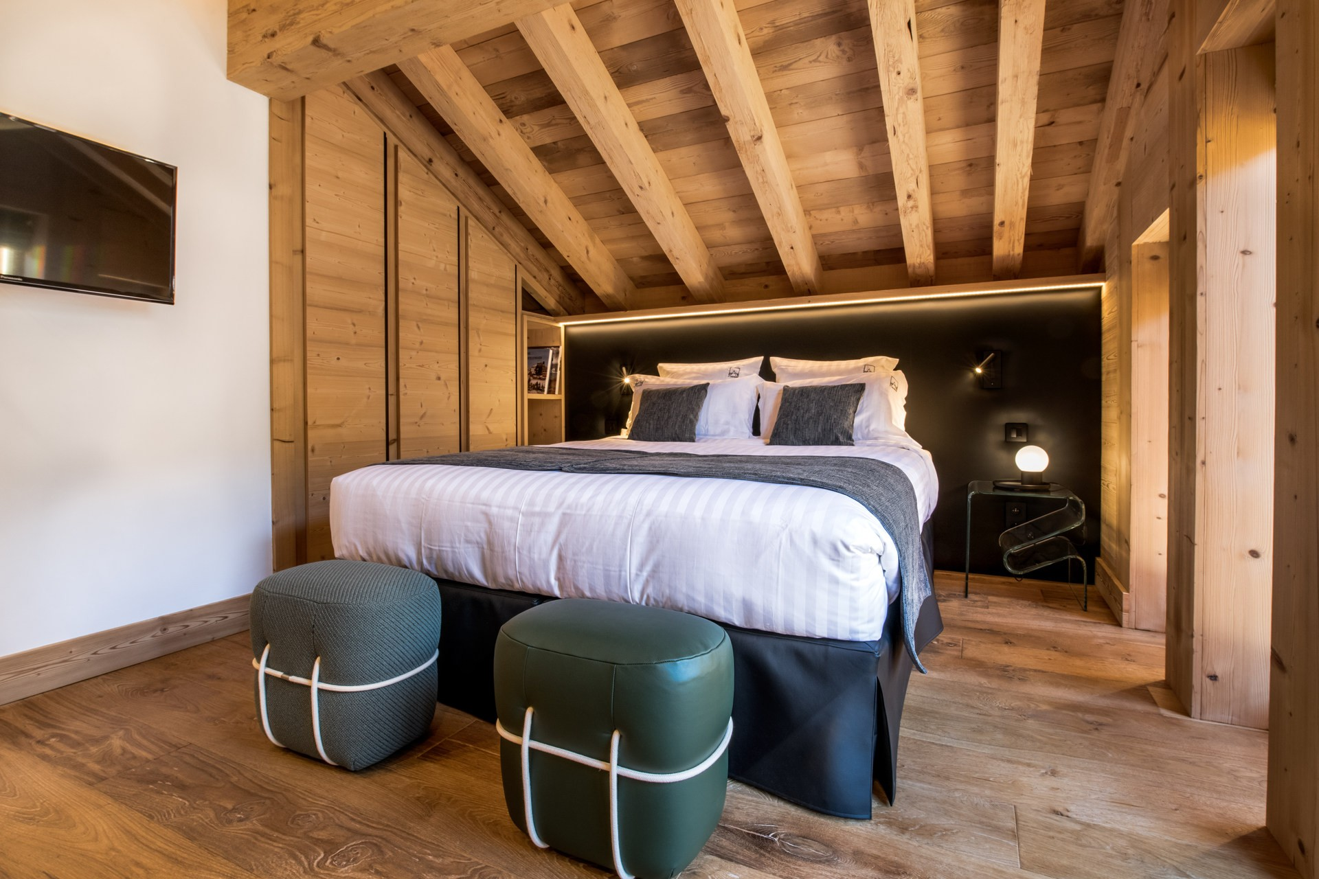 Méribel Location Chalet Luxe Nuolora Chambre 2