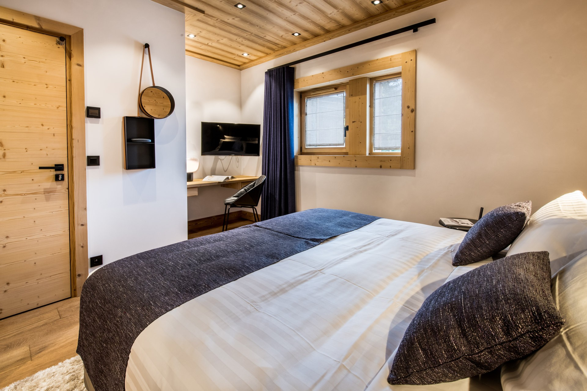 Méribel Location Chalet Luxe Nuolora Chambre 5