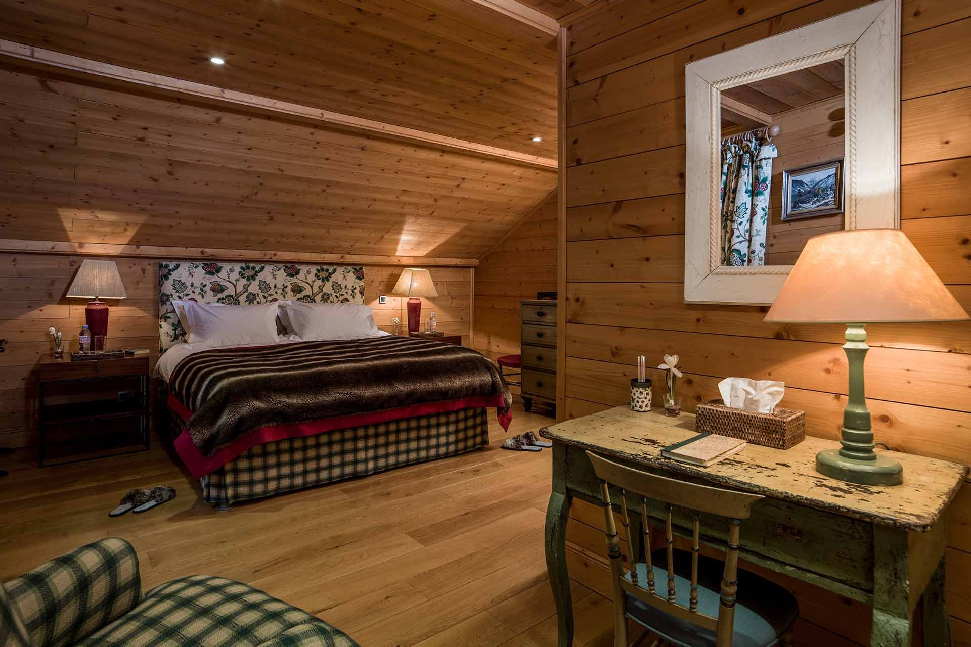 Méribel Location Chalet Luxe Ulamite Chambre 2