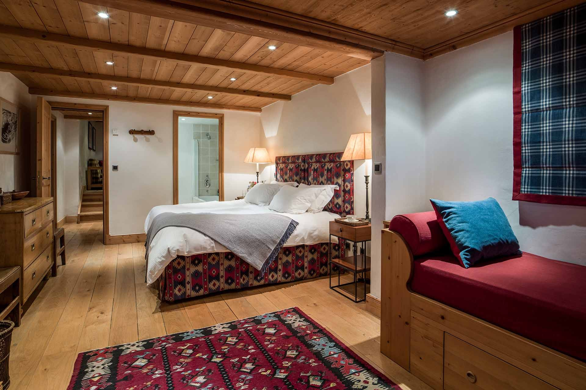 Méribel Location Chalet Luxe Ulamite Chambre 5