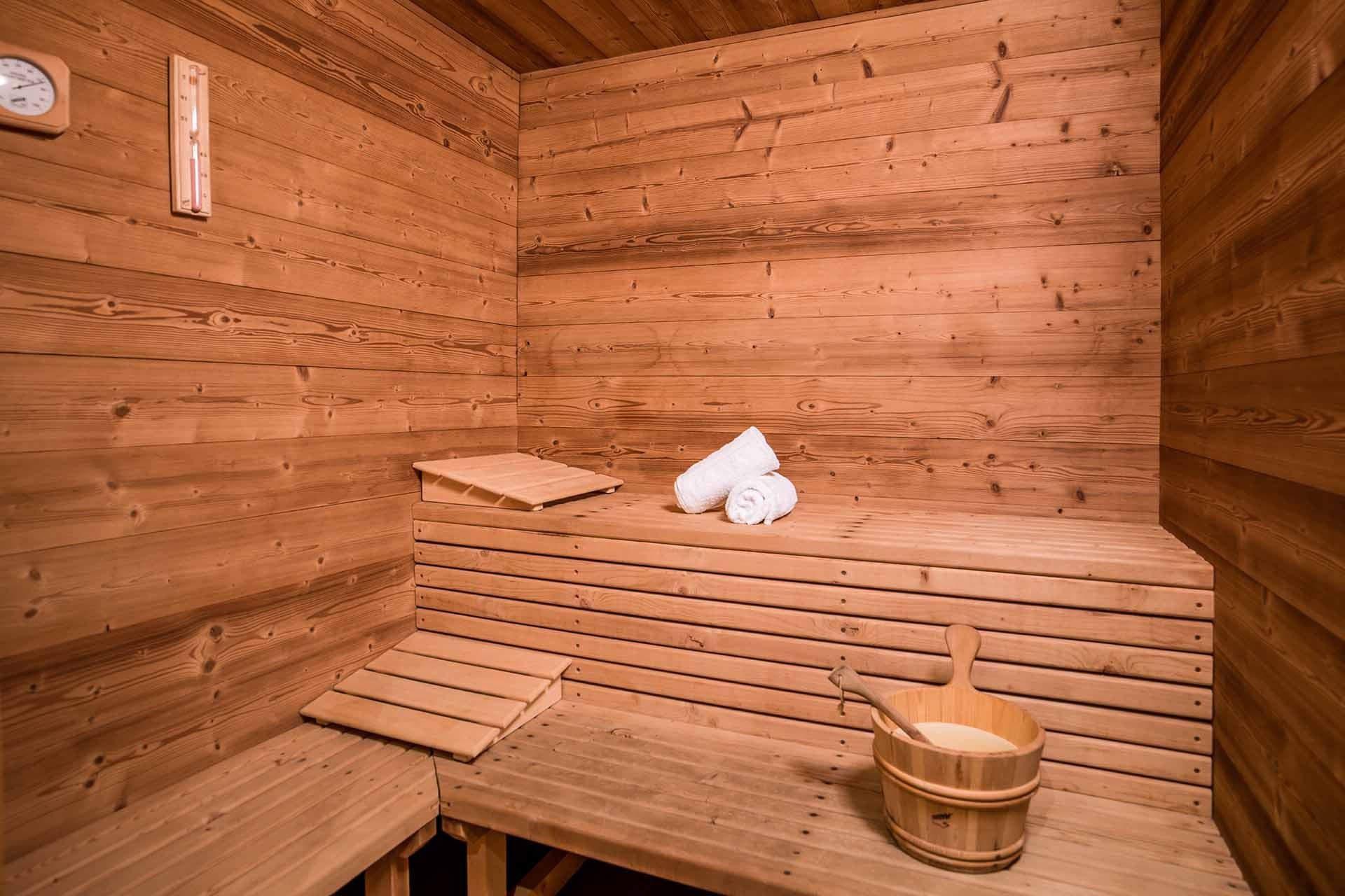 Méribel Location Chalet Luxe Ulamite Sauna