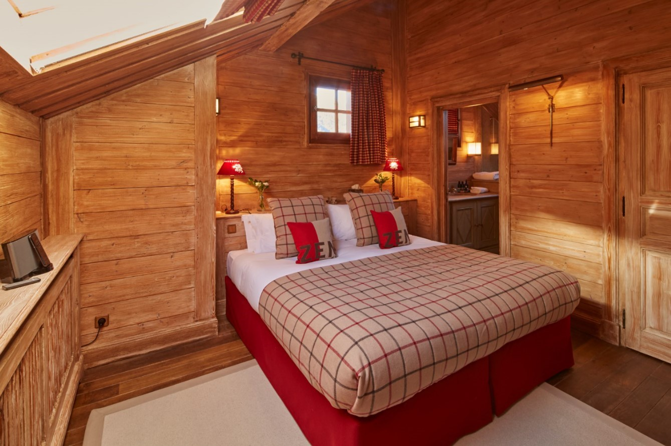 Méribel Location Chalet Luxe Ulomite Chambre 5