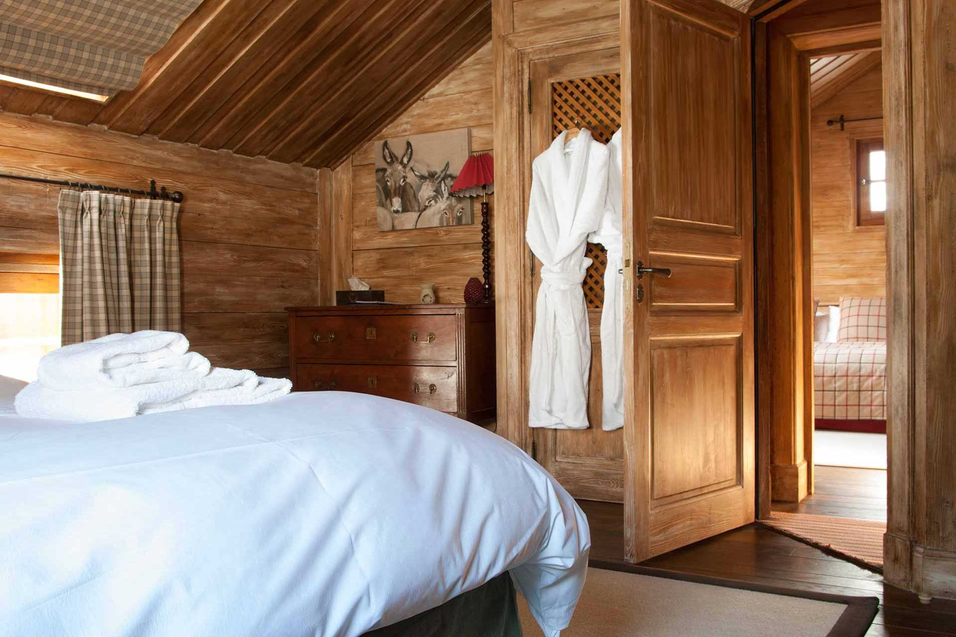 Méribel Location Chalet Luxe Ulomite Chambre 7
