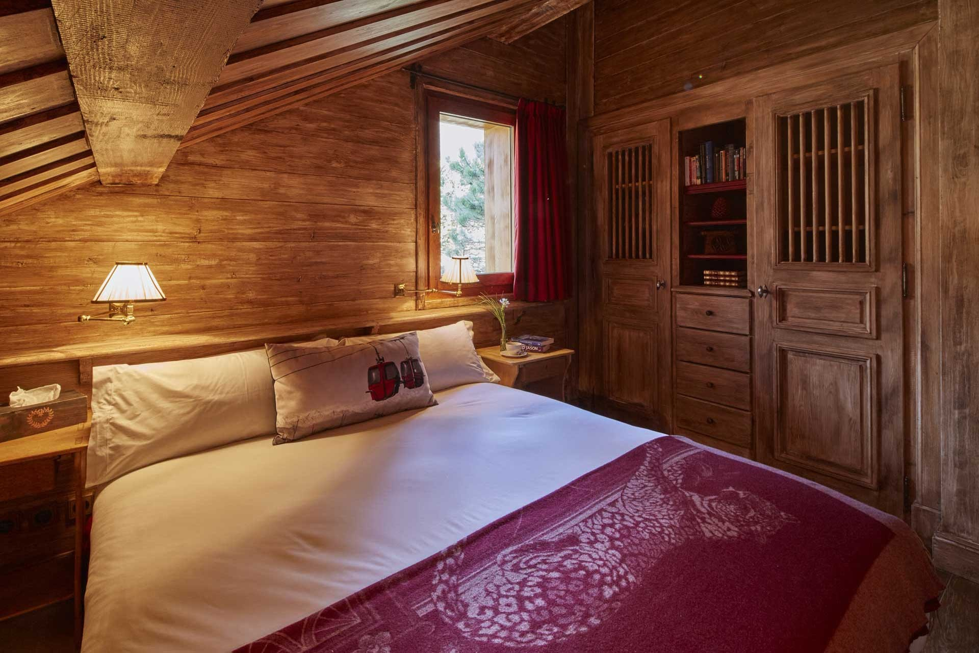Méribel Location Chalet Luxe Ulomite Chambre 8