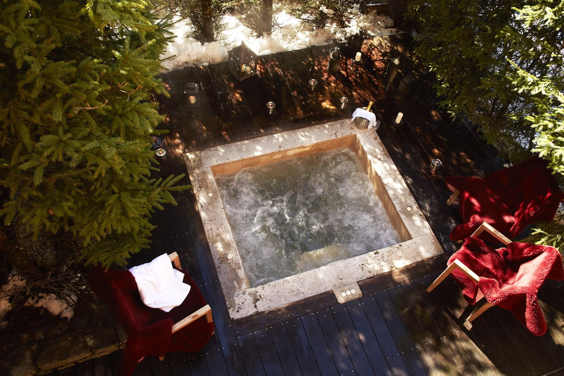 Méribel Location Chalet Luxe Ulomite Jacuzzi
