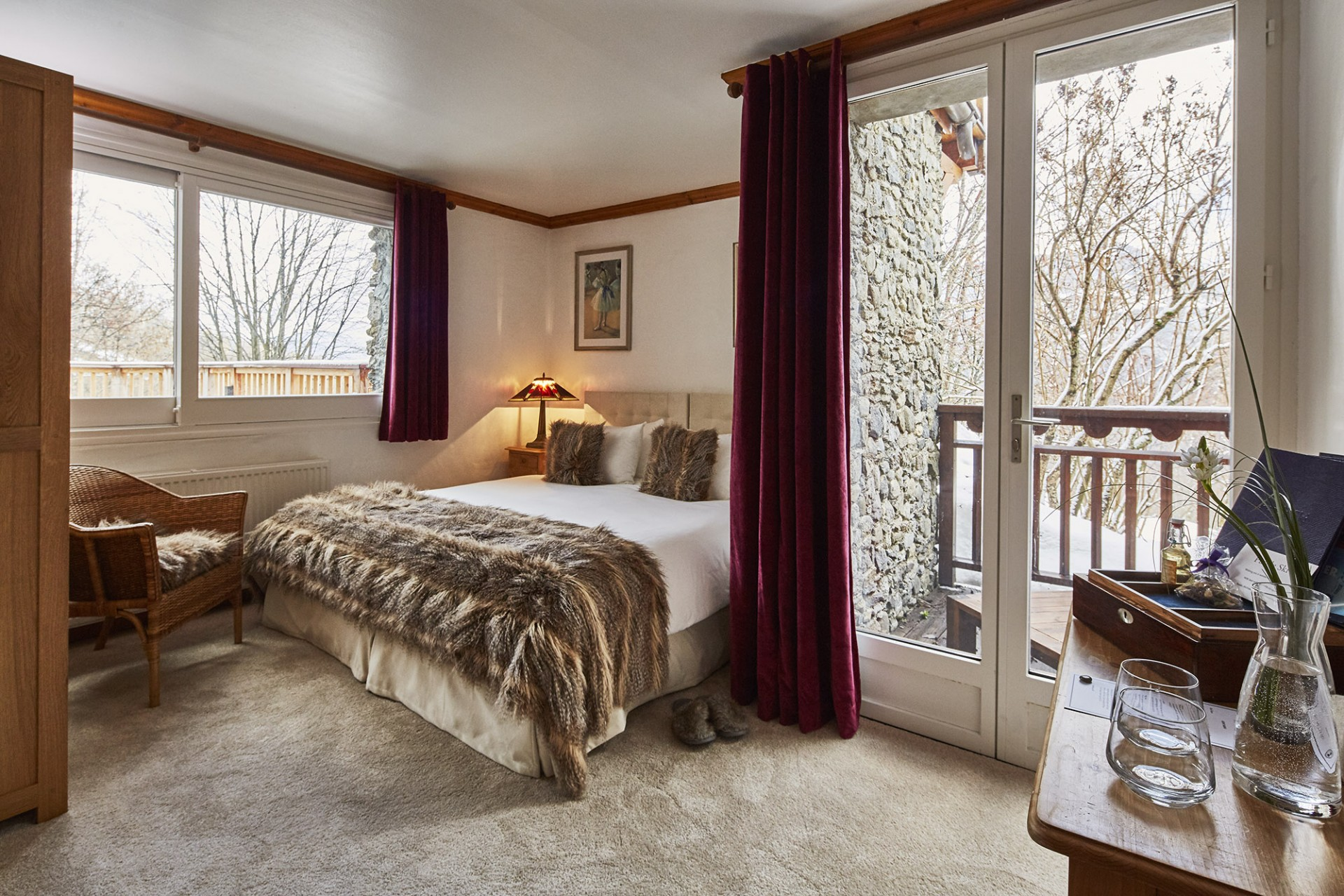 Méribel Location Chalet Luxe Ulumite Chambre 7