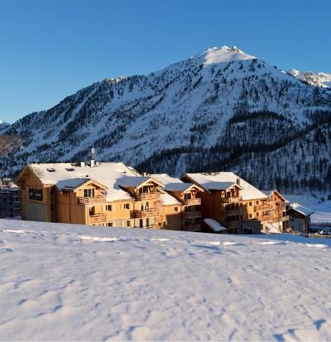 Montgenèvre Location Appartement Luxe Montana Ruby Duplex Extérieur