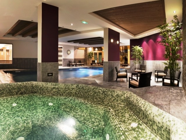 Montgenèvre Location Appartement Luxe Montana Ruby Duplex Jacuzzi