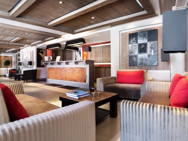 Montgenèvre Location Appartement Luxe Montana Ruby Duplex Réception