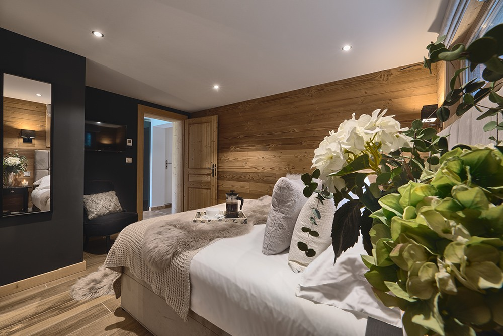 Morzine Location Appartement Luxe Merlio Chambre 2