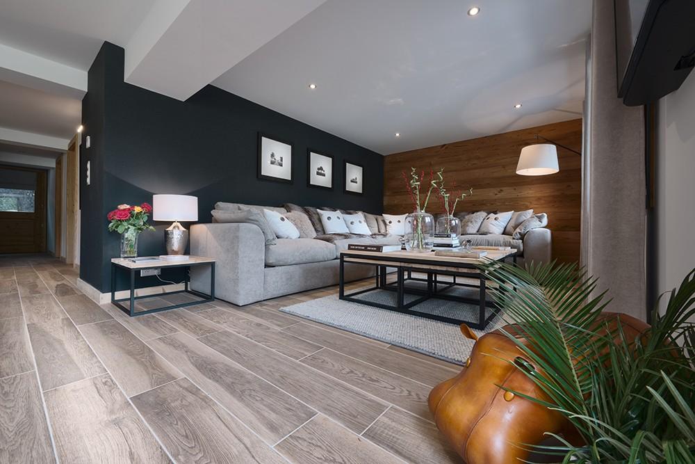Morzine Location Appartement Luxe Merlio Séjour 2