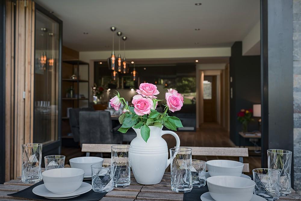 Morzine Location Appartement Luxe Merlio Terrasse