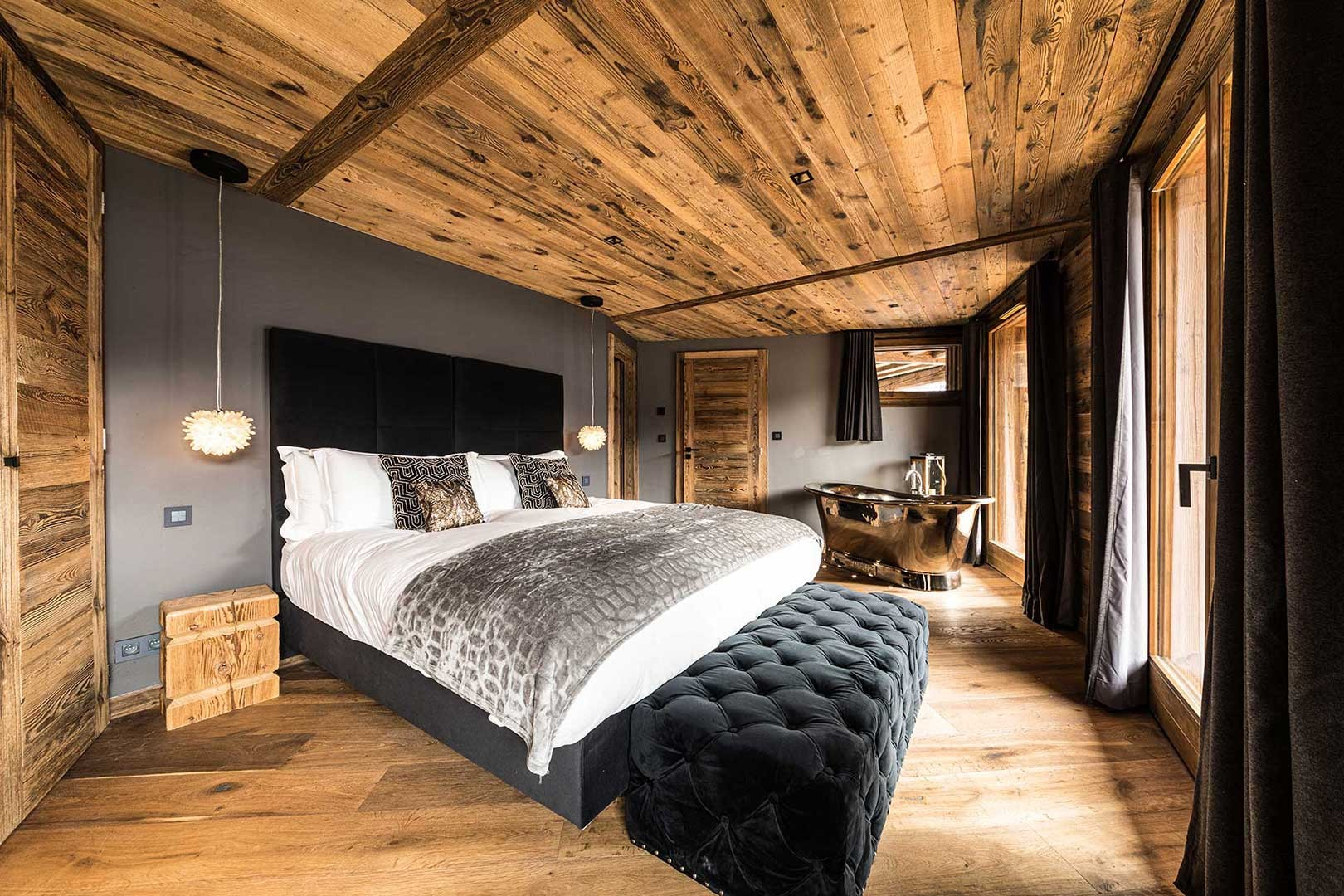 Morzine Location Chalet Luxe Daytonite Chambre1