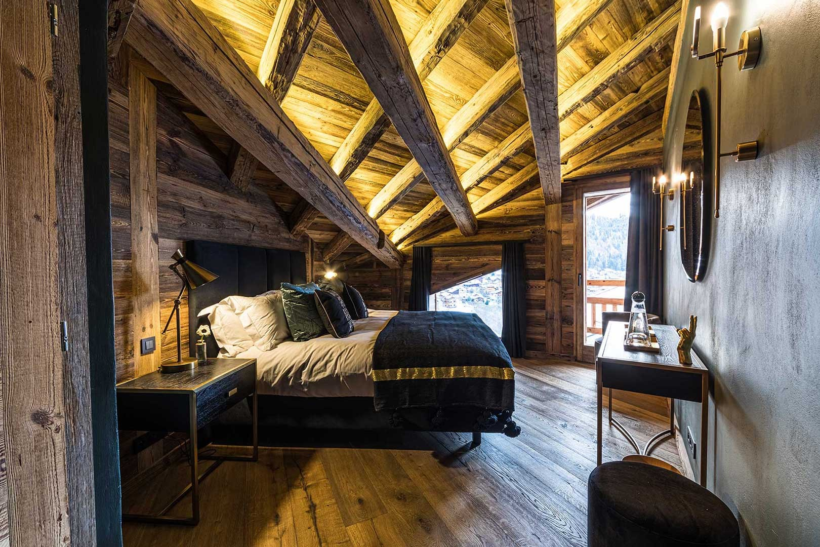Morzine Location Chalet Luxe Daytonite Chambre2