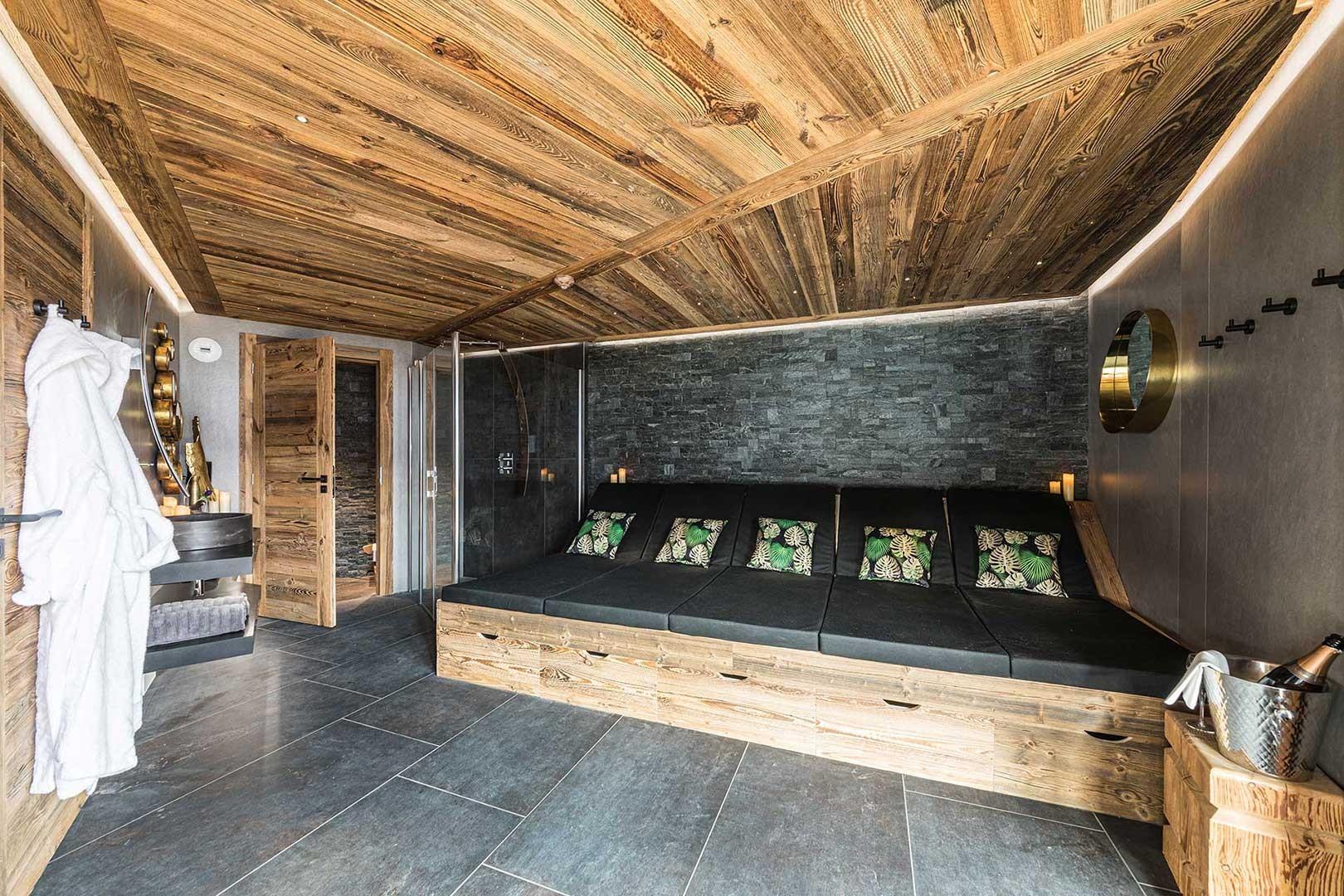 Morzine Location Chalet Luxe Daytonite Sauna
