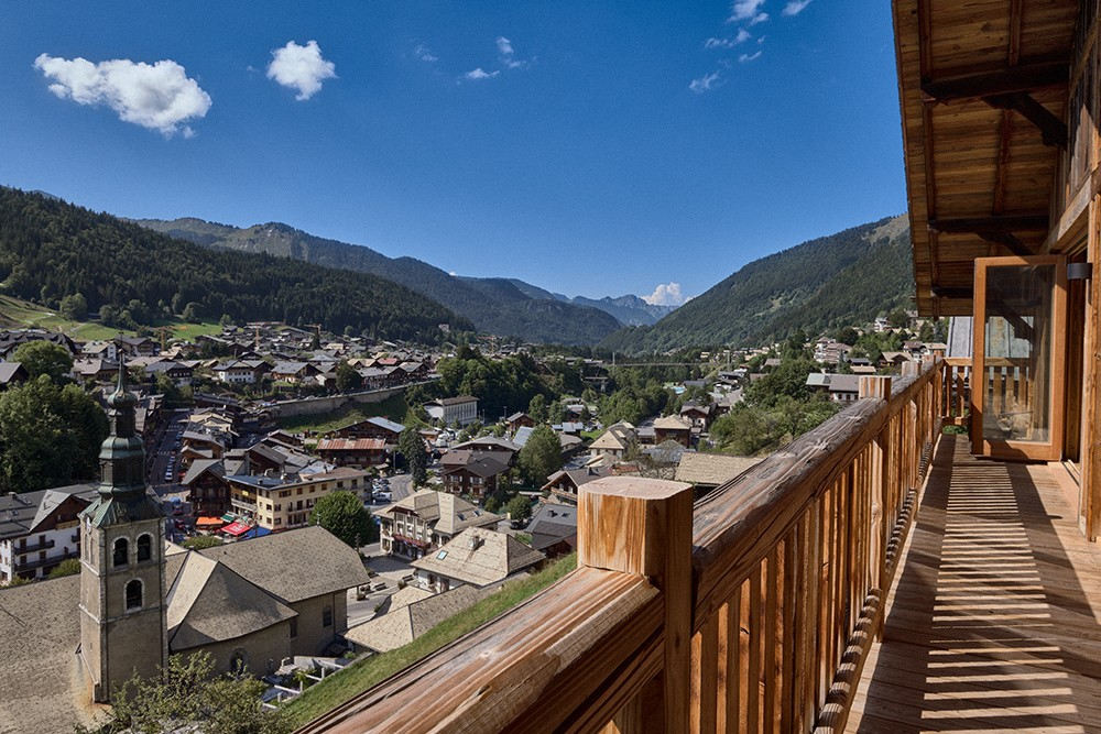 Morzine Location Chalet Luxe Morzinite Balcon