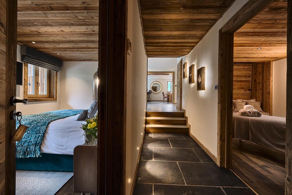 Morzine Location Chalet Luxe Morzinite Couloir
