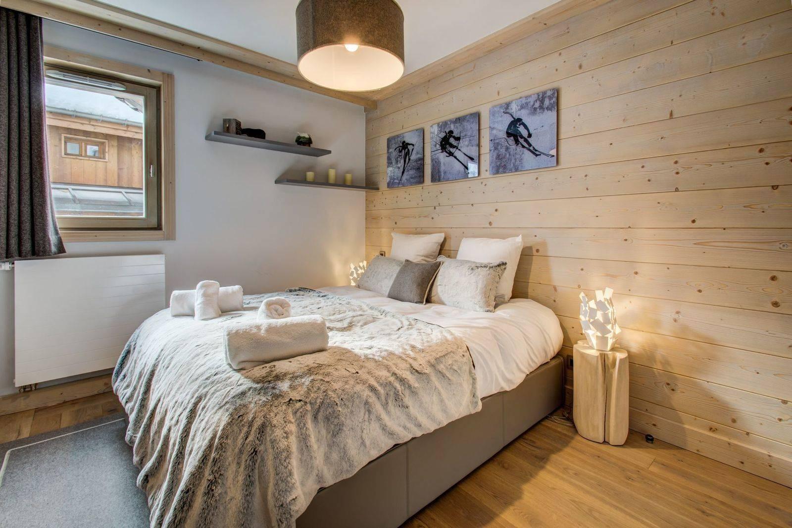 Courchevel 1550 Location Appartement Luxe Telimite Chambre 5