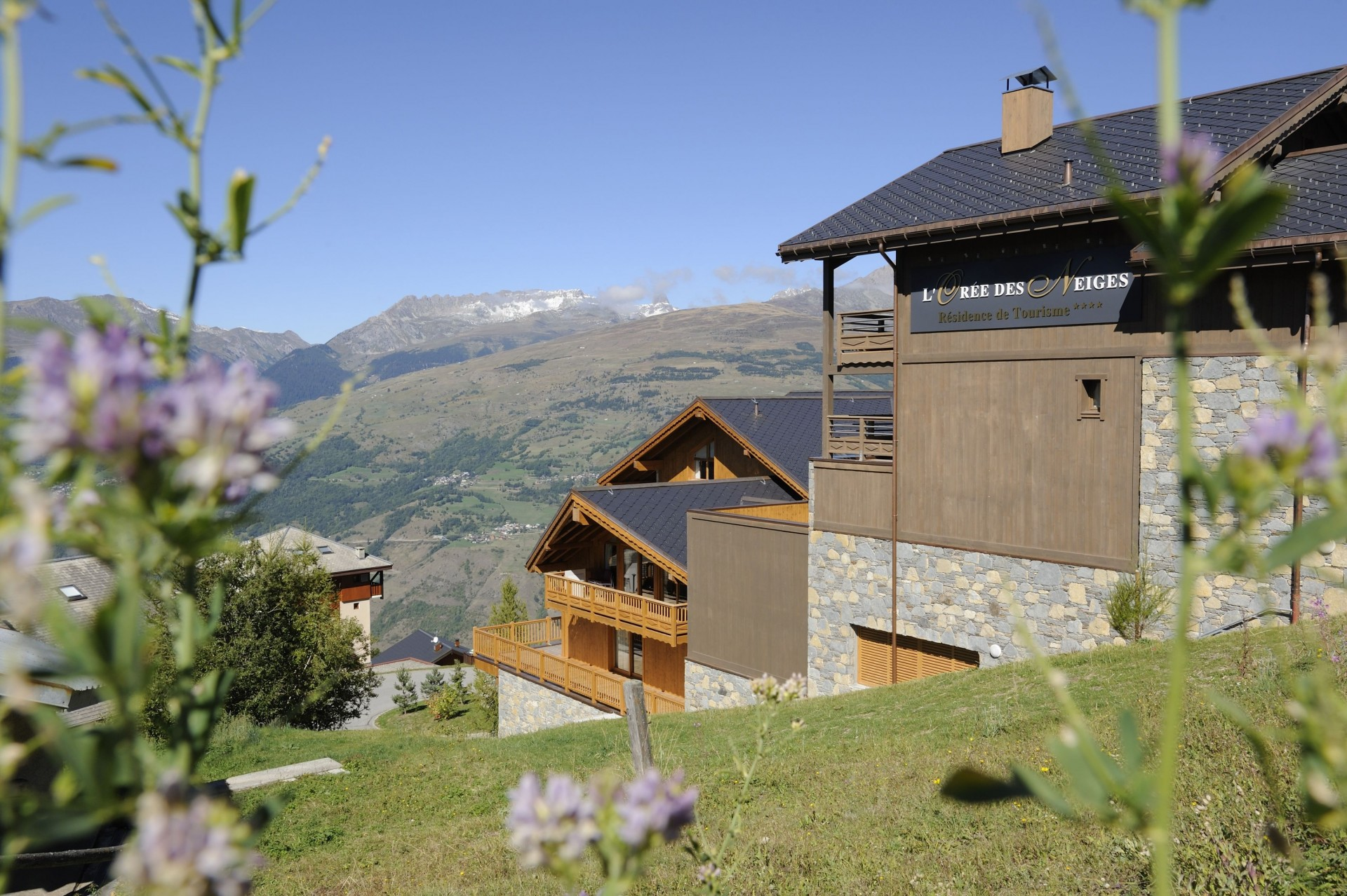 Peisey Vallandry  Location Appartement Luxe Pagodite Extérieur 2