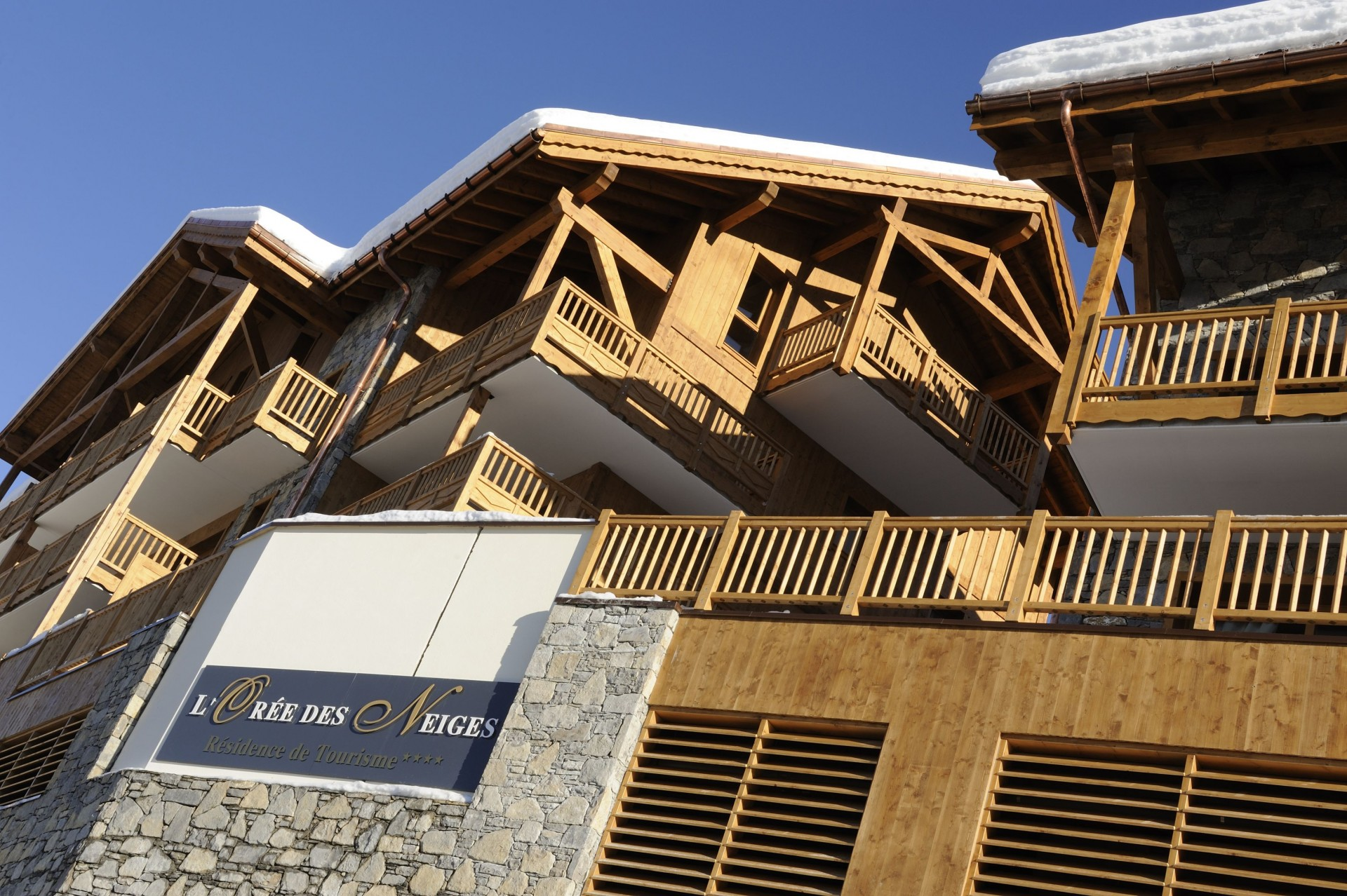 Peisey Vallandry  Location Appartement Luxe Pagodite Extérieur 3