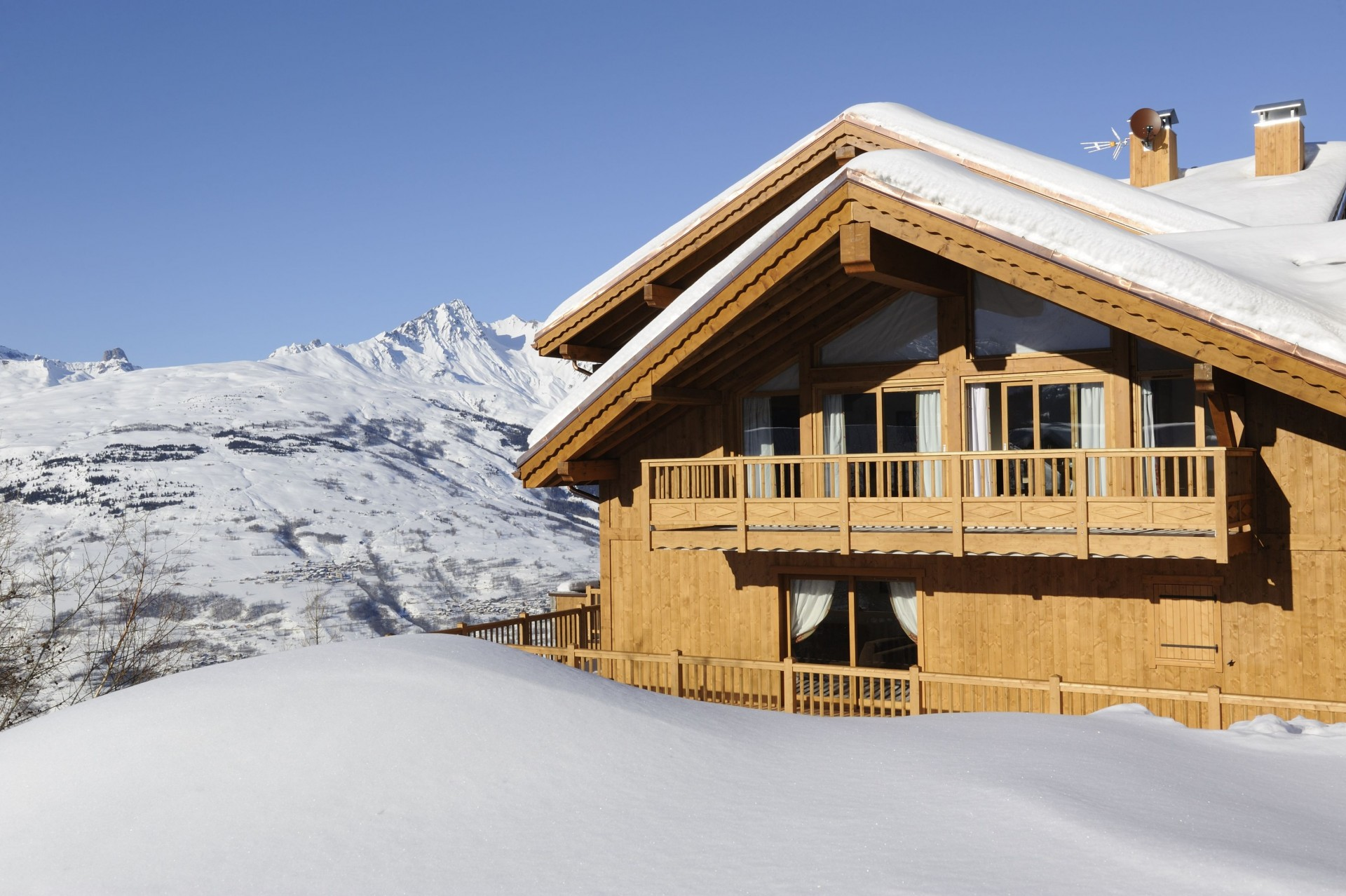 Peisey Vallandry  Location Appartement Luxe Pagodite Extérieur 5