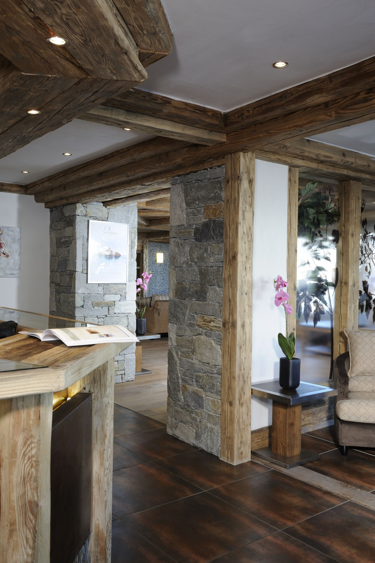 Peisey Vallandry  Location Appartement Luxe Pagodite Réception