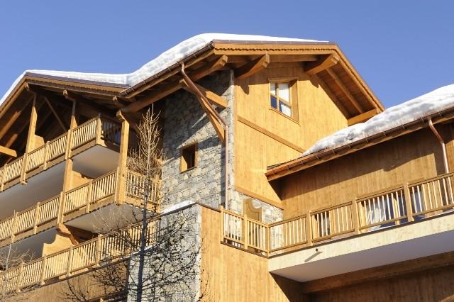 Peisey Vallandry  Location Appartement Luxe Pantaure Extérieur 2