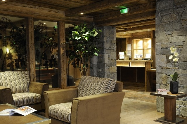 Peisey Vallandry  Location Appartement Luxe Pantaure Réception 1
