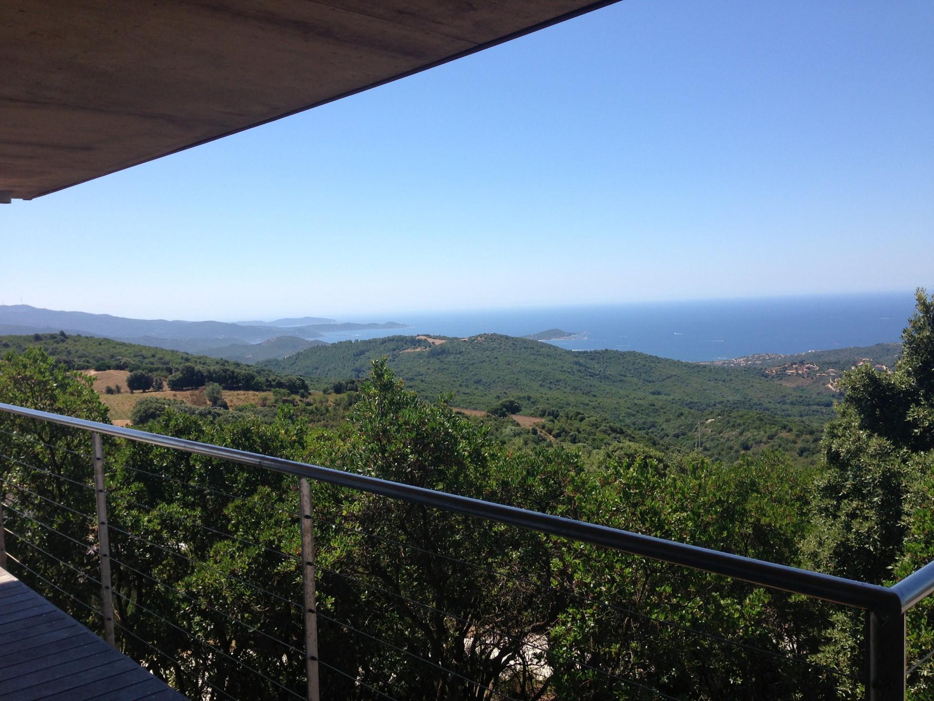 Porticcio Location Villa Luxe Piment Vue Extérieure