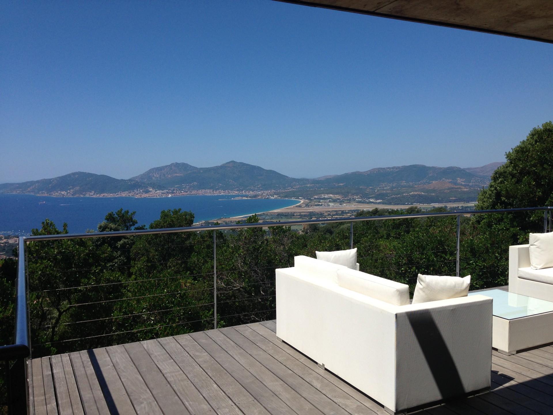 Porticcio Location Villa Luxe Piment Vue Mer