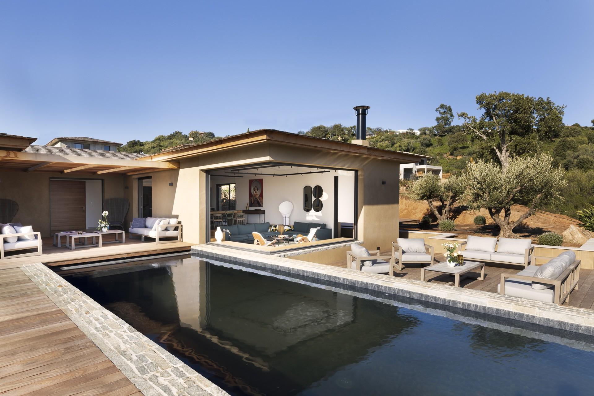 Porto Vecchio Luxury Rental Villa Perle Pool