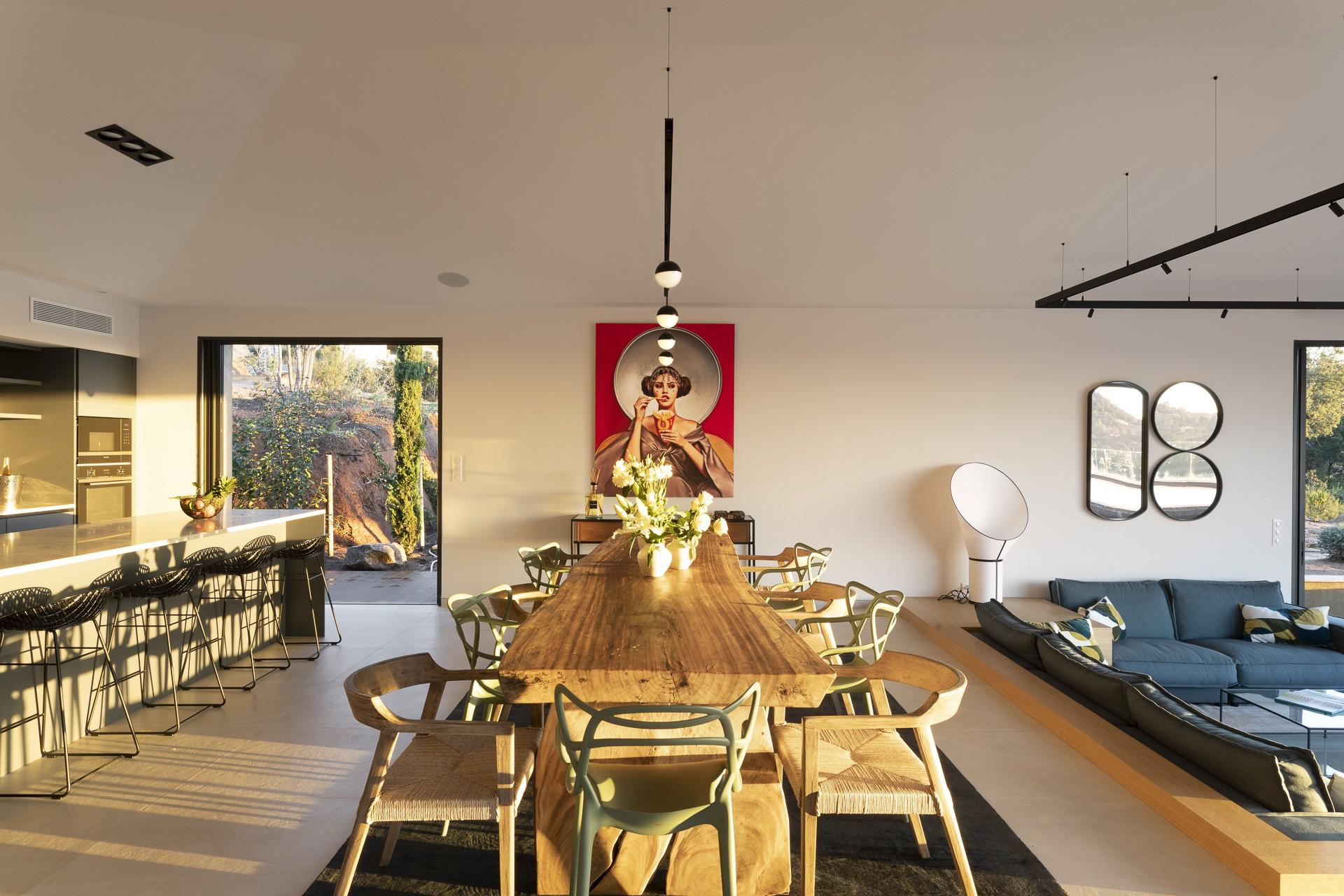 Porto Vecchio Luxury Rental Villa Perle Dining Room 2