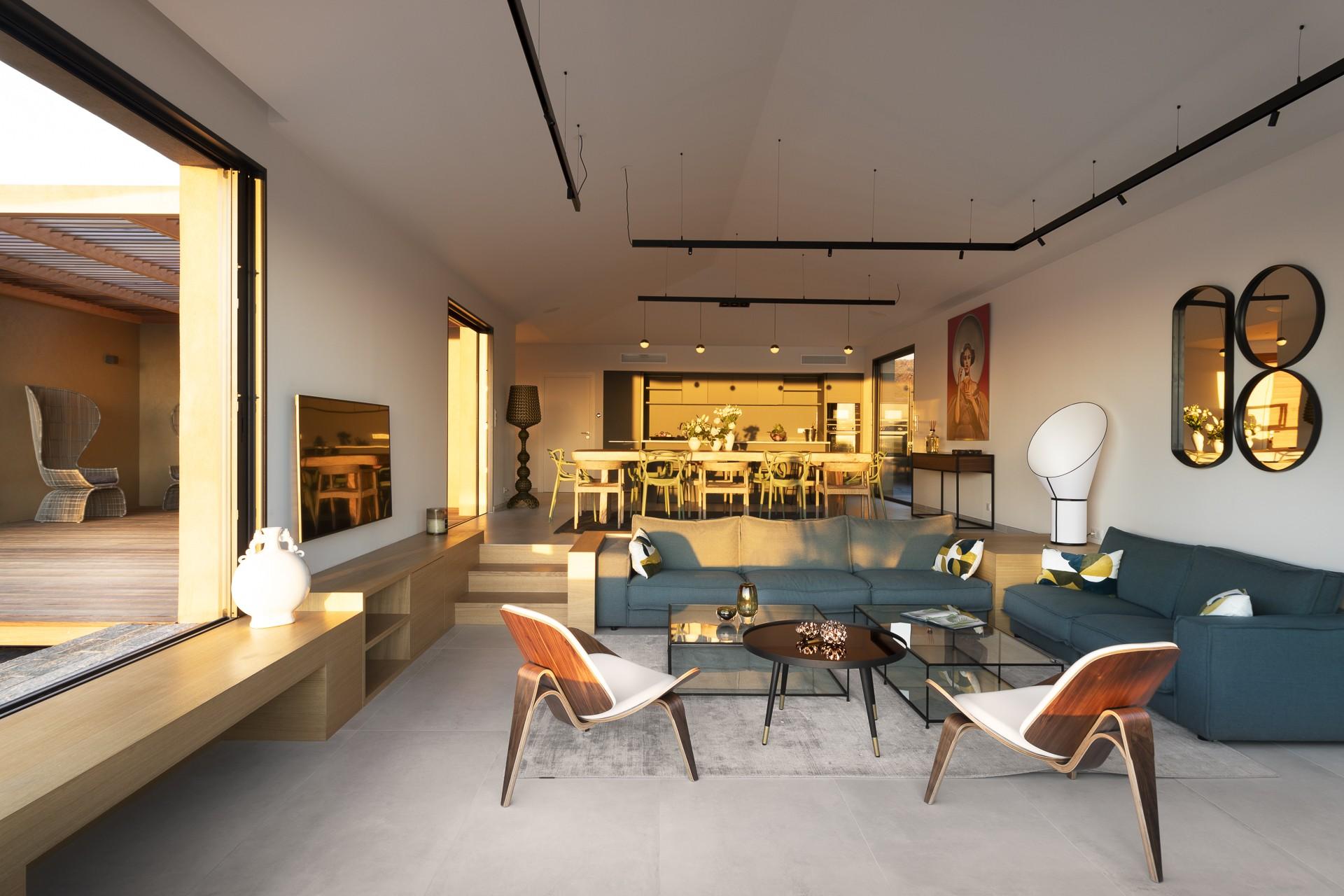 Porto Vecchio Luxury Rental Villa Perle Living Room 4
