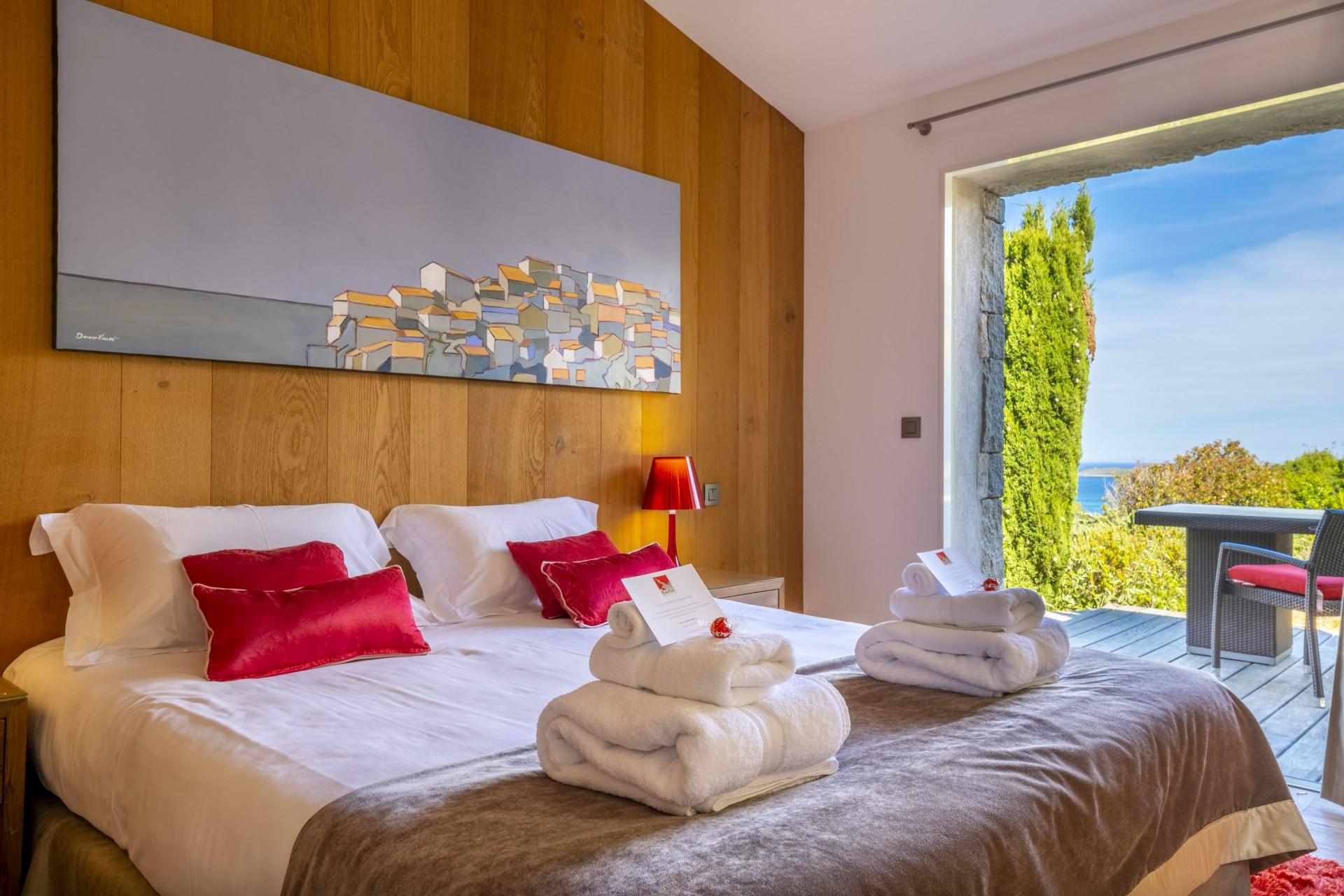 Porto-Vecchio Location Villa Luxe Poivre Chambre1