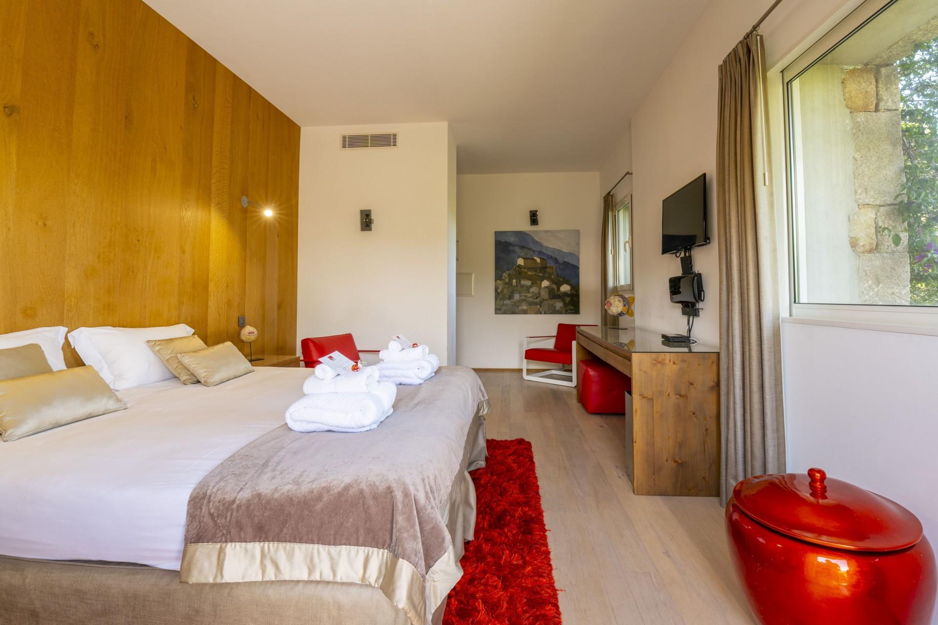 Porto-Vecchio Location Villa Luxe Poivre Chambre3