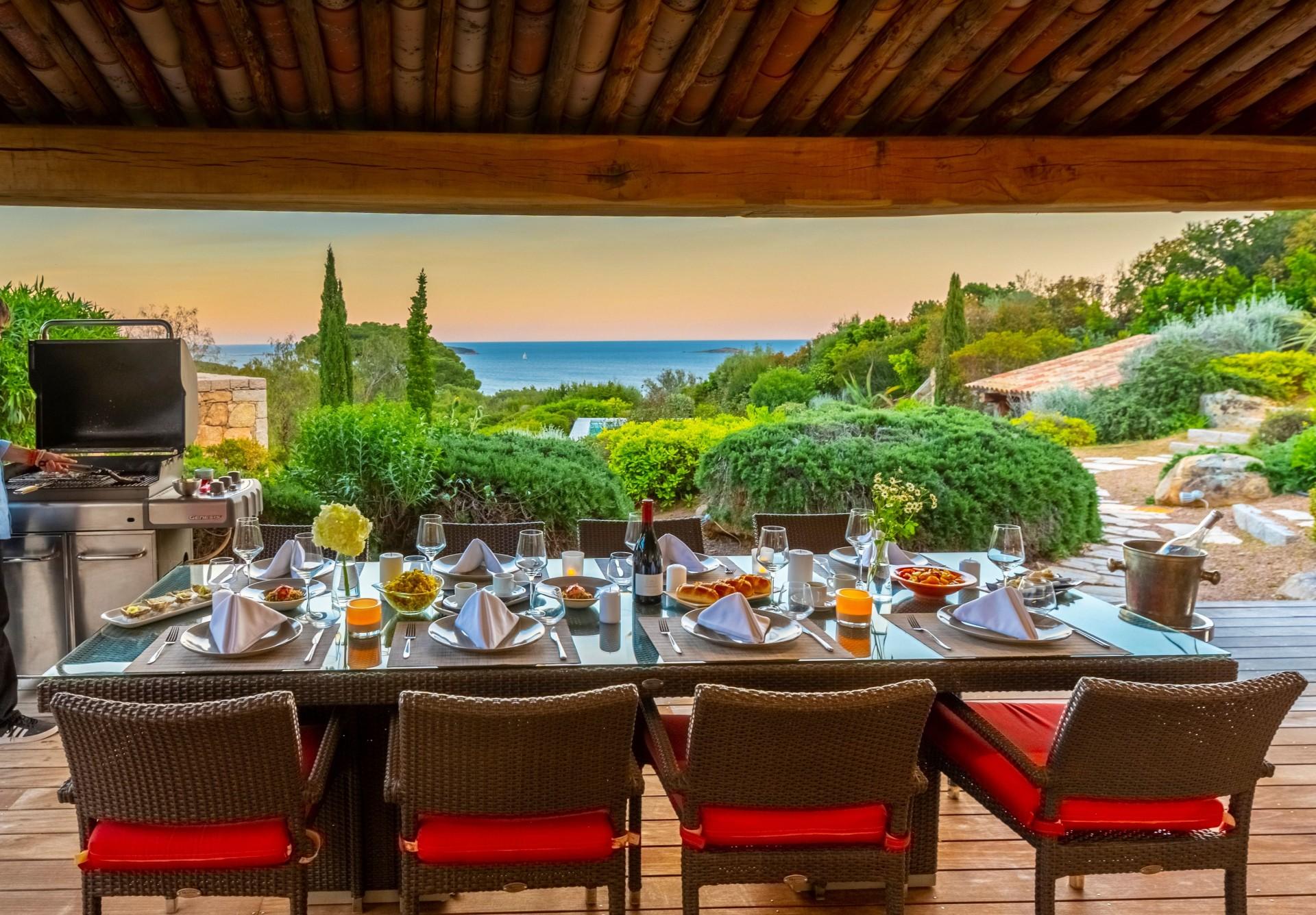 Porto-Vecchio Location Villa Luxe Poivre Terrasse Barbecue
