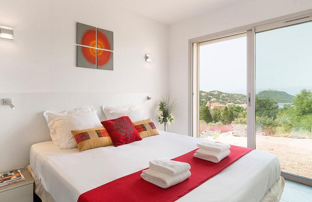 Propriano Location Villa Luxe Preles Chambre 1