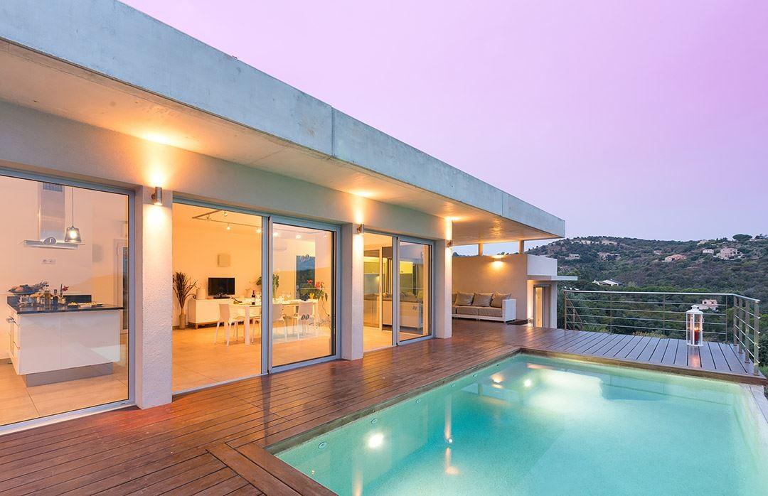 Propriano Location Villa Luxe Preles Extérieur